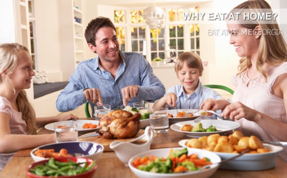 Why Eat at Home? Shop Smart, Save Big, Live Well